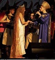 Esther und Xerxes vermählen sich. (Bild: Vroni Krucker)
