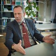 Der Kommandant der St.Galler Kantonspolizei Bruno Zanga ist überzeugt, dass die Polizei richtig gehandelt hat. (Bild: Ralph Ribi)