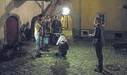 Der Trailer wurde in der Altstadt von Chur gedreht. (Bild: zVg)