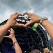 Viel Liebe fürs Open Air: Das Festival im Sittertobel findet dieses Jahr zum 41. Mal statt. (Bild: Peer Füglistaller)