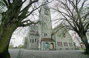Auf dem Gelände der Kirche soll es in diesem Jahr einen neuen Veloständer geben. (Bild: Reto Martin)