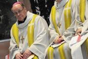 Dem Churer Bischof Vitus Huonder droht eine Anzeige. (Bild: Keytone)