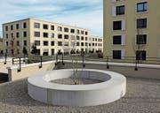 Wil: Die Überbauung Klosterwiese ist ein wichtiges Kernstück in der Innenentwicklung und wird dieses Jahr abgeschlossen. (Bilder: Hans Suter)