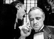 Marlon Brando in «Der Pate»: In echt hat sich die Mafia rund um den Bodensee niedergelassen. (Bild: Keystone/Paramount Pictures)