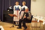 Eine willkommene musikalische Auflockerung an der Hauptversammlung des Diakonievereins Werdenberg. (Bild: PD)