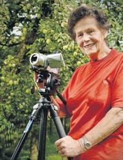 Für Christine Leumann ist das Filmen weit mehr als nur ein Hobby. (Bild: Reto Martin)