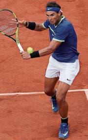 Der Spanier Rafael Nadal war im Juni 2014 letztmals die Weltnummer eins. (Bild: Tatyana Zenkovich/EPA (Paris, 11. Juni 2017))