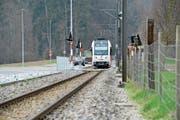 Gesicherte Bahnübergänge – wie hier in Lüdem nahe Frauenfeld – sollen helfen, Kollisionen zu verhindern. (Bild: Donato Caspari)