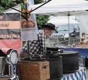 «Heissi Marroni» gehören trotz Sonne und angenehmen Temperaturen zu einem Jahrmarkt.