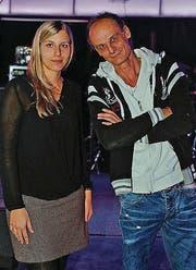 Karin Schöni (26) aus St. Gallen und Bush Künzler (51), Egnach. (Bild: Rupper ChristianPupikoferstr.5 9)