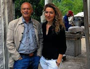 Immer neue Initiativen: Alex Naef und Almute Grossmann-Naef. (Bild: Gerhard Lob)