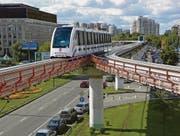 Intamin schlägt eine Monorail vor. Sie hat dieses System verschiedenenorts realisiert, wie hier in Moskau. (Bild: pd)