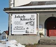 Bis im Dezember informiert eine Ausstellung in der Kirche Hundwil über Werk und Leben von Jakob Künzler. (Bild: mge)