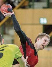Gossaus Lucius Graf ist mit 145 Toren derzeit der Topskorer der NLA. (Bild: Urs Bucher)