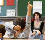 Bei der Volksschule besteht Sparpotenzial, finden Kantonsräte. (Bild: Salvatore Di Nolfi/KEY)