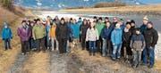 Die Sektion Rheintal-Liechtenstein des Hauswarteverbands unternahm eine Winterwanderung. (Bild: PD)