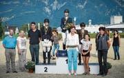 Im OKV-Final der Stufe 3 gewann Eva Schanz (Felben-Wellhausen) vor Nadine Schwendener (Grabs) und Ruth Heggli (Sennwald). (Bild: Katja Stuppia)