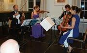 Das Quartett bot in Herisau ein erstklassiges Kontrastprogramm. (Bild: FO)