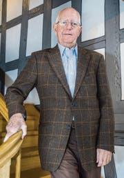 René Künzli ist Präsident der Terz-Stiftung, die sich für die Belange älterer Menschen einsetzt. (Bild: Andrea Stalder)