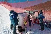 Die Kameras stehen nahe an der Rennpiste und sind entsprechend geschützt. (Bild: PD)