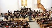 Die 57 Musikerinnen und Musiker des Jugendorchesters Thurgau spielen in einer Konzertreihe unter anderem Meisterwerke von Beethoven, David und Brahms. (Bild: Manuela Olgiati)