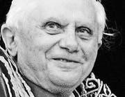 Joseph Ratzinger Papst Benedikt XVI. (Bild: ky/Claudio Onorati)