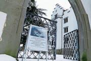 Das Schloss Wartensee befand sich im Januar 2017 im Winterschlaf. (Bild: Rudolf Hirtl (Januar 2017))