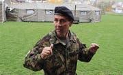 Chef Regie: Oberstleutnant im Generalstab Reinhard Eugster hat die Übung seit eineinhalb Jahren vorbereitet.