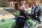 Die Teilnehmer absolvierten Disziplinen einer Bauernhofolympiade. (Bild: pd)