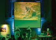 Christof Sondereggers Bilder werden am kommenden Sonntag das Panflötenkonzert von Panflini begleiten. (Bild: zVg)