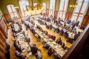 Der Grosse Rat sprach sich gegen ein Öffentlichkeitsgesetz aus. (Bild: Reto Martin)