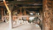 Der Dachstock des Hofs zu Wil soll saniert und nutzbar gemacht werden. (Bild: Chris Gilb)