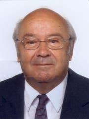 Der Altregierungsrat Alex Oberholzer ist am Sonntag in Oberriet verstorben. (Bild: pd)