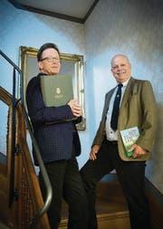 Der Musiker und der Geldgeber: Rudolf Lutz und Konrad Hummler engagieren sich für Bachs Vokalwerk. (Bild: Ralph Ribi)