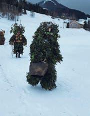 Das «Chlausen» am alten Silvester erinnert noch heute an die Kalenderreform. (Bild: APZ)