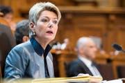 Karin Keller-Sutter, FDP, ehemalige Kantons- und Regierungsrätin, sitzt seit 2011 für den Kanton St.Gallen im Ständerat. (Bild: Keystone)