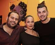 Claudio Arcorace, Tanja Dickenmann und Dino Angelino gefällt die Meile wegen ihrer Vielfältigkeit. (Bilder: Chris Marty/frauenfeld-events.ch)