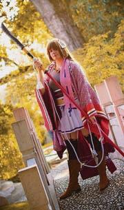 Ramona Wirth im Cosplay vom Charakter Tokugawa Sen. (Bild: pd)