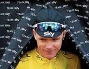 Chris Froome wurde bei der Vuelta mit einem deutlich erhöhten Wert des Asthmamittels Salbutamol im Urin erwischt. (Bild: Christophe Ena/AP)
