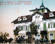 Das Hotel-Restaurant «Fünfländerblick» gehörte zu den kurtouristischen Wahrzeichen der Region Vorderland-Bodensee. (Bild: PE)
