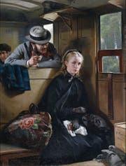 Sexismus im 19. Jahrhundert: Berthold Woltze und sein Gemälde «Der lästige Kavalier». (Bild: Wikimedia)