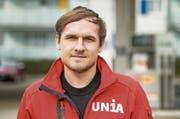 Unia-Gewerkschafter Stefan Brülisauer (Bild: Reto Martin)
