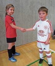 Fairplay gilt schon bei den kleinsten Turnierteilnehmern. (Bild: PD)