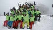 Gut gelaunt und unverzichtbar: Helferinnen und Helfer des Ski-Club Buchs. (Bilder: PD)