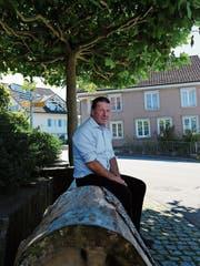 Wenn im Dorf etwas läuft, fühlt sich Norbert Rüttimann am wohlsten. (Bild: Jolanda Riedener)
