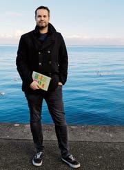 Ohne seinen Skizzenblock geht Comic-Autor Sandro Hagen nicht aus dem Haus. (Bild: Perrine Woodtli)