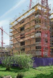 Die Immobilienkrise traf auch den Bund massiv. (Bild: Gaetan Bally/KEY)