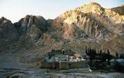 Aussensicht des Katharinenklosters auf der ägyptischen Halbinsel Sinai. (Bild: Getty)