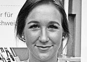 Sarah Zemp aus Weinfelden, studiert Psychologie, FH Nordwestschweiz Olten