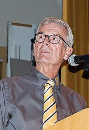 TCS-Regionalpräsident Hansueli Litscher aus Buchs. (Bild: Leo Coray)